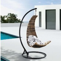 Amazon.com: Dais - Modern Balance Curve Porch Swing Chair Model - Y9073: Home & Kitchen