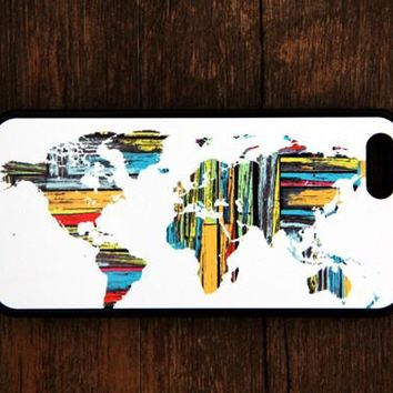 Ethnic World Map iPhone 6s 6 plus case iPhone 6s rubber case Aztec iPhone 5s 5 5c silicone case Retro iPhone 6 Case