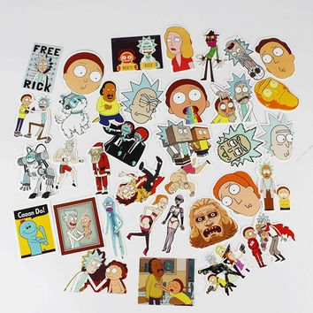 35 Rick And Morty Pack Of Stickers