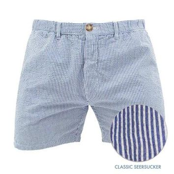 The Bushwoods | Dark Blue Seersucker Shorts – Chubbies Shorts