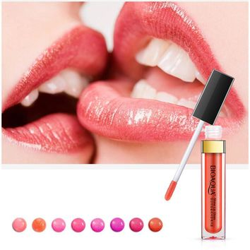 8colors kyli Lip Gloss maquillage Moisture Waterproof cosmetics Nutritious Easy wear Long Lasting liquid lipstick Makeup lip kit