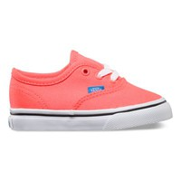 Vans Toddlers Neon Authentic (coral/french blue)