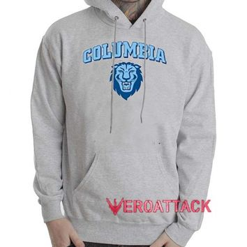Columbia University Grey Color Hoodie
