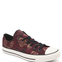 Converse Floral Lace Up Sneakers - Womens Shoes - Red