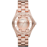 Marc by Marc Jacobs Glitz Bezel 3-Hand Watch