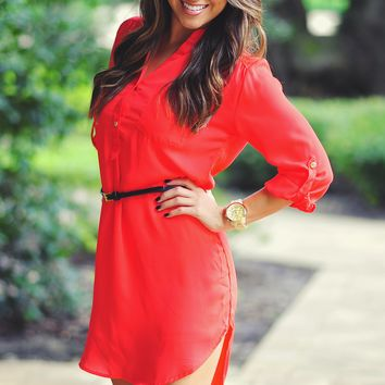 Our Favorite Fall Tunic: Red | Hope's