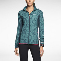 The Nike Printed Trail Kiger Women's Running Jacket.