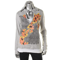 Style & Co. Womens Embellished 2PC Hoodie