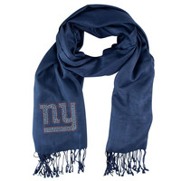New York Giants NFL Pashi Fan Scarf (Navy)