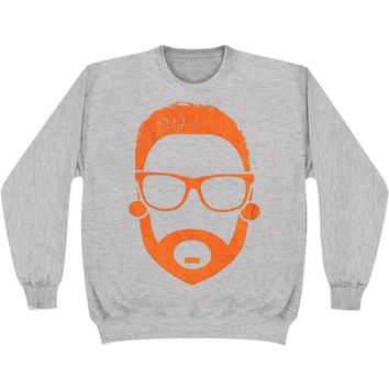 Memphis May Fire Men's  Cartoon Matty Sweatshirt Grey Rockabilia
