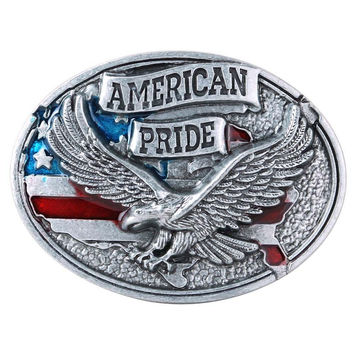 Senmi Cool Belt Buckles For Mens eagle Cool Pattern Western Metal Fashion Buckles