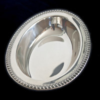 Wilcox, International Silver, Oval Vegetable Serving Bowl 7075, Silverplate