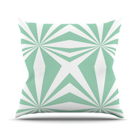 "Project M ""Starburst Mint"" Throw Pillow"