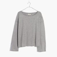 Libretto Wide-Sleeve Top : shopmadewell long-sleeve tees | Madewell