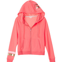 Dolman-sleeve Zip Hoodie - Fleece - Victoria's Secret