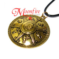PERCY JACKSON Shield Pendant Necklace