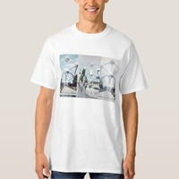 Brussels Atomium Photo Collage Shirt