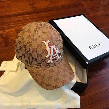 Gucci Baseball Hat With La Angels? Patch #1100