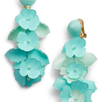 Oscar de la Renta Climbing Flower Drop Earrings | Nordstrom