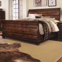 A.R.T. Whiskey Sleigh Bed