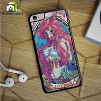 The Zombie Mermaid Princess iPhone 6S Plus Case by Avallen