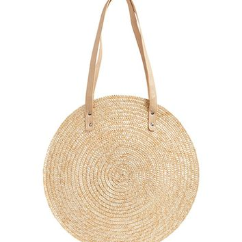 BP. Circle Basket Tote Bag | Nordstrom