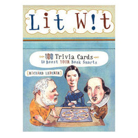 Lit Wit Deck: Book smart trivia cards