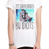 Disney The Lion King Surrounded By Idiots Girls T-Shirt