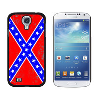 Confederate Southern Rebel Flag Distressed Galaxy S4 Case