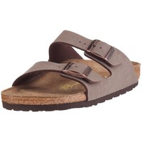 Birkenstock Arizona Birkibuc Sandal (Toddler),Mocha,34 Narrow EU