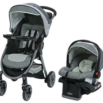 Graco FastAction 2.0 Travel System, Mason, One Size