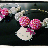 Official Hello Kitty Hoop Earrings