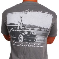 Timeless Traditions Golf T-Shirt in Grey by State Traditions