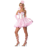 Rubie's Costume Co Womens Playboy Bunnylicious Halloween Party Dress Costume