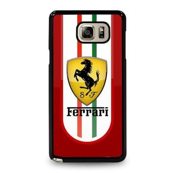 FERRARI Samsung Galaxy Note 5 Case Cover