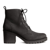 H&M Pile-lined Boots $39.99