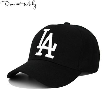 Trendy Winter Jacket New Fashion LA Baseball Caps Dodgers Embroidery Hip Hop bone Snapback Hats for Men Women Adjustable Gorras Unisex Cap  AT_92_12