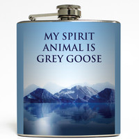 My Spirit Animal - Funny Flask