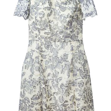 Tory Burch lace patchwork dress