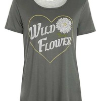 Wild Flower Tee by Project Social T - New In This Week - New In