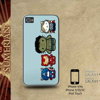 Avengers Hello Kitty - iPhone cases 4/4S Case iPhone 5/5S/5C Case Samsung Galaxy S3/S4 Case