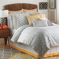 Jill Rosenwald Plimpton Flame Bedding Collection Comforter Sets