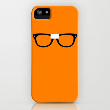Alex Vause Glasses OITNB iPhone & iPod Case by Maria Giorgi