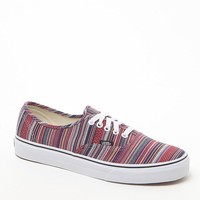 Vans Authentic Guate Weave Shoes - Mens Shoes - Black