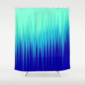 Aurora  Shower Curtain by AmeliaDarland