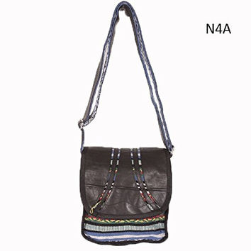 Rocker Recycled Shoulder Bag to benefit earthquake relief efforts in Nepal!