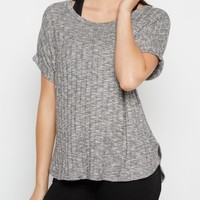Marled Knit Shirttail Tee By Sadie Robertson x Wild Blue™ | Shirts | rue21
