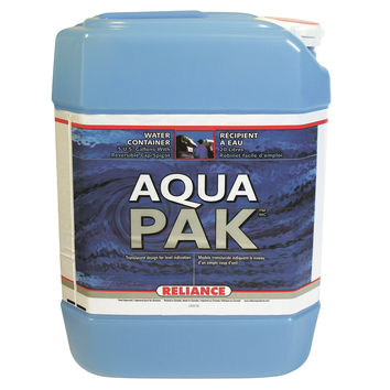 Reliance Water-Pak Water Container 5 Gallon