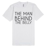 Men's Maternity Shirt-Unisex White T-Shirt