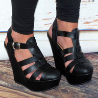 Good Life Wedges: Black